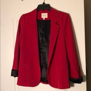 Urban outfitters red blazer